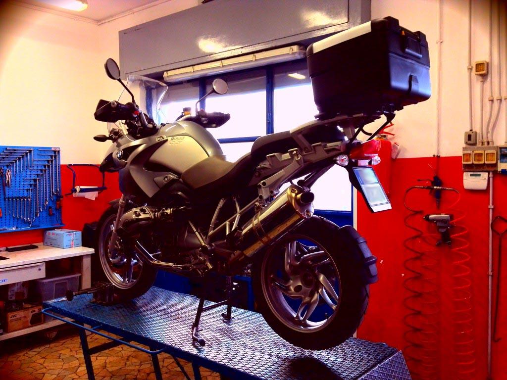 Officina DBS moto Roma Tiburtina